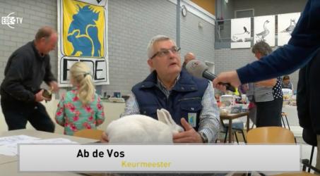 Koninklijke onderscheiding voor EPV'er Ab de Vos